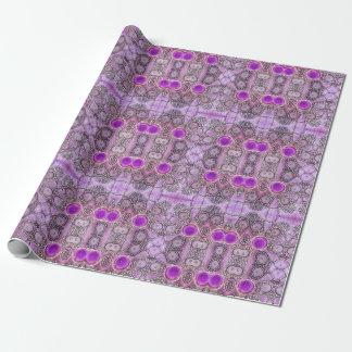 Purple Hamsa Wrapping Paper