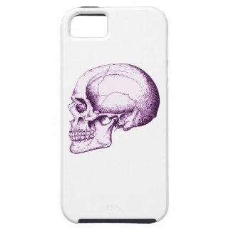 Purple Human Skull Tough iPhone 5 Case