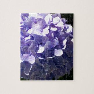 Purple  Hydrangea Jigsaw Puzzle