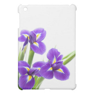 purple iris flower case for the iPad mini