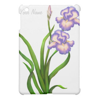 Purple Iris Flowers Customizable Speck Case Case For The iPad Mini