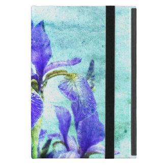 Purple Iris Watercolor iPad Mini Case