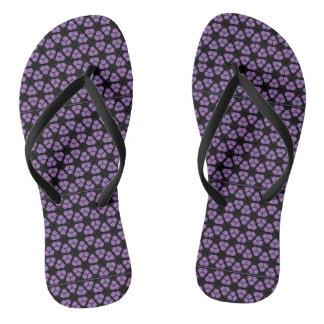 purple jandals