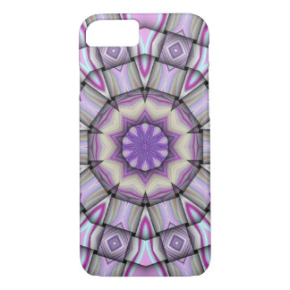Purple Kaleidoscope iPhone 7 Case