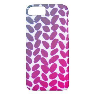 Purple Knit Phone Case