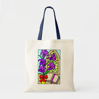 Purple Lillies For Easter Tote Bag