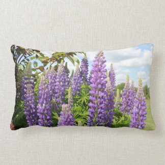 Purple Lupine Pillow