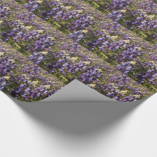 Purple Lupine Wildflower Flowers Floral Wrapping Paper