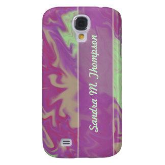 purple marble texture galaxy s4 case