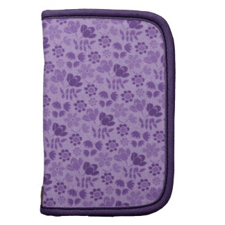 Purple Mini Flowers Organizer