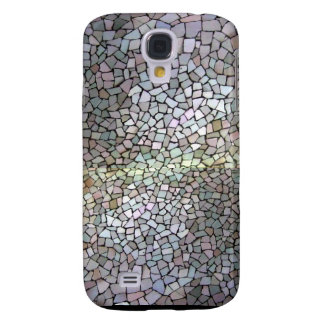 Purple Mosaic Pattern Galaxy S4 Case