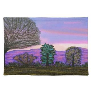Purple Nevada Sunset American Mojo Placemats