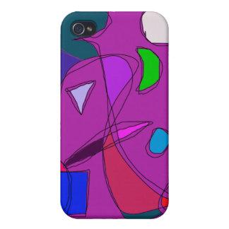 Purple Night Sky iPhone 4 Cover