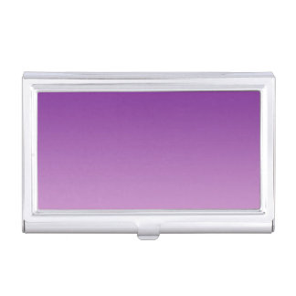 Purple Ombre Business Card Holders