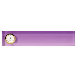 Purple Ombre Nameplate