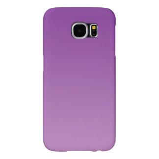 Purple Ombre Samsung Galaxy S6 Cases