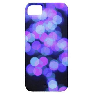 Purple Orbs iPhone 5/5s Case