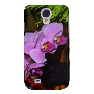 Purple Orchid Galaxy S4 Case