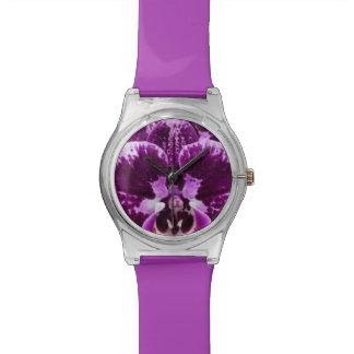Purple Orchid Watch