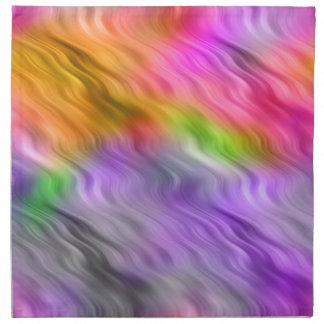 Purple Orchid Wavy Texture Napkin
