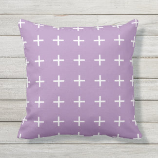 Purple Outdoor Pillows - Scandi Chic
