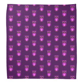 Purple Owly TP Bandana