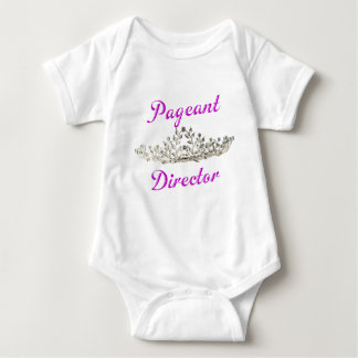 Purple Pageant Director Baby Bodysuit