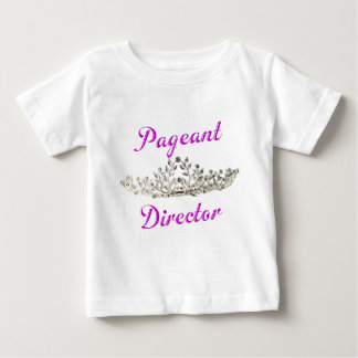 Purple Pageant Director Baby T-Shirt