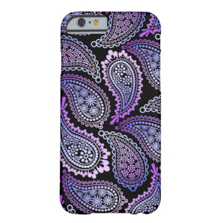 Purple Paisley iPhone case Barely There iPhone 6 Case