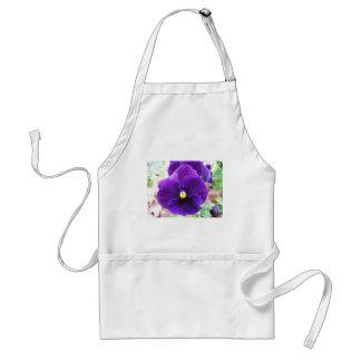 Purple Pansy Standard Apron