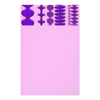 Purple Passion Stationery