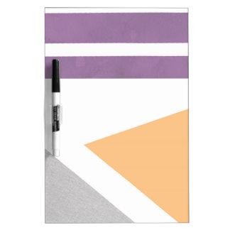 Purple Peach Grey Gray Stripes Phone Case iPhone Dry Erase Board