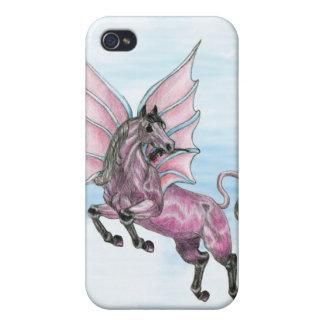 Purple Pegasus iPhone 4 Case