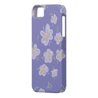 Purple Petals iPhone 5 Cover