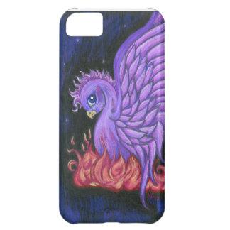 Purple Phoenix iPhone 5 Case