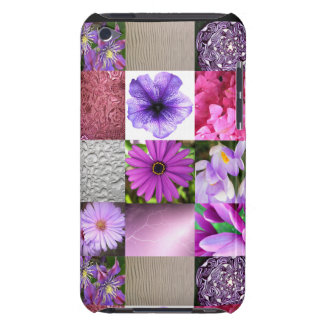 Purple / Pink Photo Collage iPod Case-Mate Cases