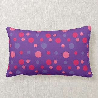 Purple Polka dot Pillow