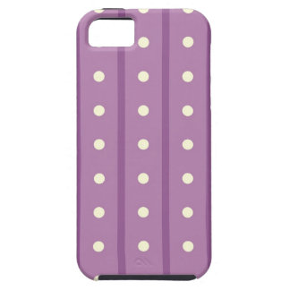 Purple Polka Dots iPhone 5 Case