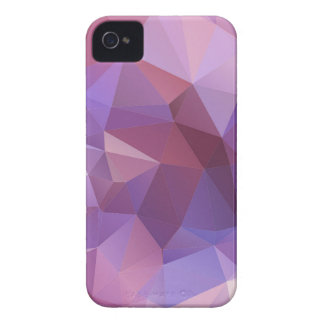 Purple Polygon Customisable iPhone 4 Covers