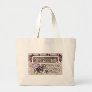 Purple Posy Secret Valentine Bag