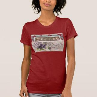 Purple Posy Secret Valentine T-Shirt