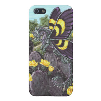 Purple Prickly Pear Dragon Fly iPhone 5/5S Case