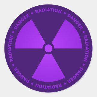Nuclear Radiation Symbol Stickers | Zazzle.co.nz