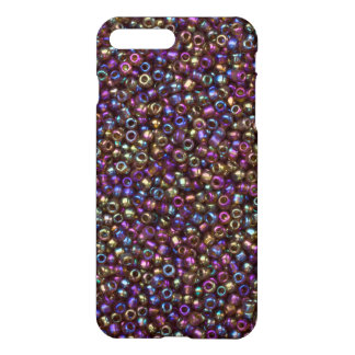 Purple Rainbow Rocaille Seed Beads iPhone 7 Plus Case