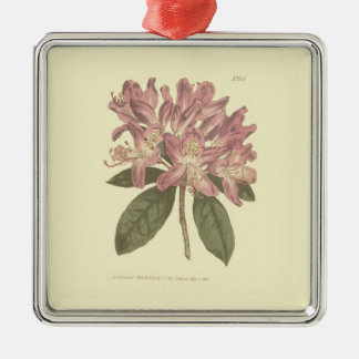 Purple Rhododendron Illustration Christmas Ornament