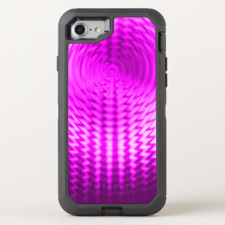 Purple Ripples OtterBox Defender iPhone 8/7 Case