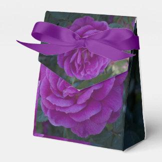 Purple Rose Box Favour Box