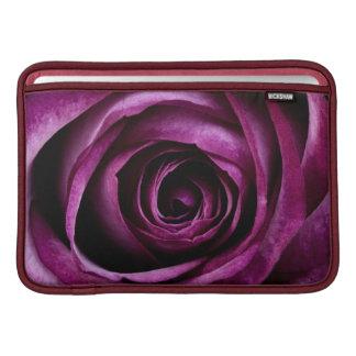 Purple Rose MacBook Sleeve