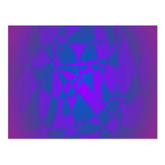 Purple Sea Postcard