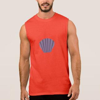 Purple Shell Sleeveless Shirt